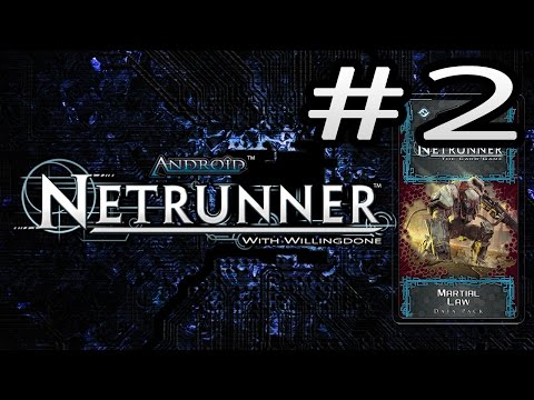 Android Netrunner Data Pack Review: Martial Law - Corp Cards
