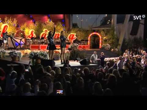 Icona pop-All night LIVE.Allsång på Skansen 2014