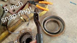 DIY snap ring pliers