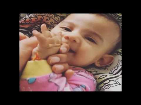 Watch Priyanka Chopra adorable baby biting fingers