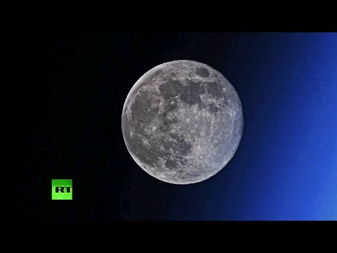 Космонавт снял на видео «исчезающую» Луну