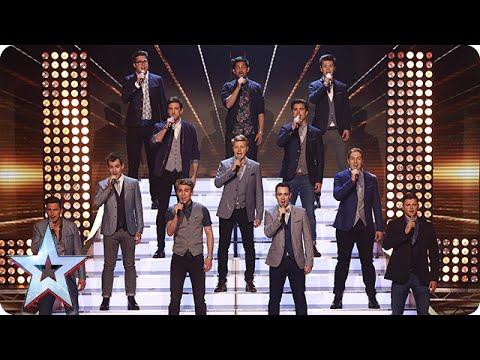 The Kingdom Tenors make some tremors | Semi-Final 3 | Britain's Got Talent 2015