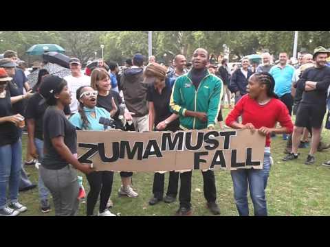 20151216 #ZumaMustFall March - Pretoria