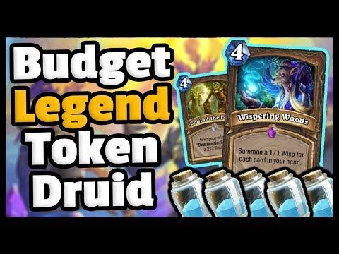Hidden GEM - Budget Legend Token Druid - Saviors Of Uldum - Hearthstone