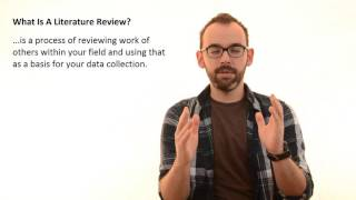 2.1 What Is A Literature Review In Research Thesis(Do you like this video? Check out my latest course and get 20% off unlimited learning on Curious!, 2016-03-17T10:18:53.000Z)