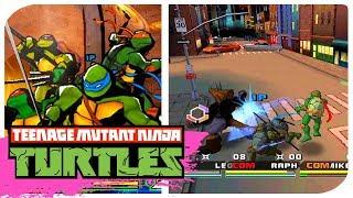 Teenage Mutant Ninja Turtles 3 Mutant Nightmare Part 1 HD Gamecube Dolphin