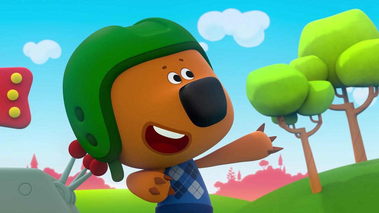 Ми-ми-мишки - Сборник серий про спорт часть 2 (Мимимишки мультфильмы для детей)
