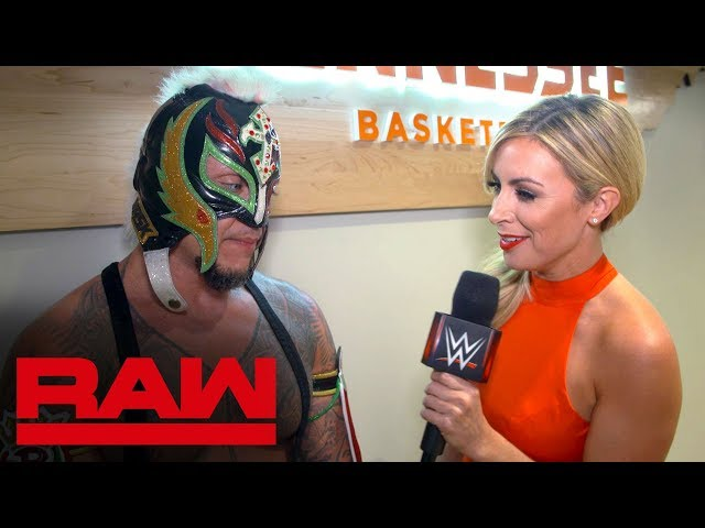 Rey Mysterio claims Cesaro got off easy: Raw Exclusive, Sept. 16, 2019