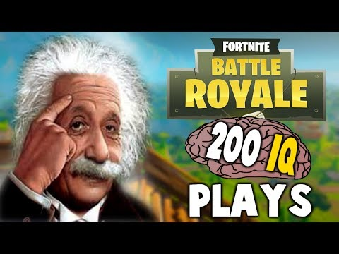FORTNITE - WHEN PLAYERS HAVE 200 IQ (Smartest Plays Ever)