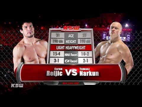 KSW Free Fight: Tomasz Narkun vs Goran Rejlić
