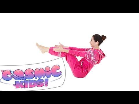 boat pose  cosmic kids yoga posture of the week  youtube