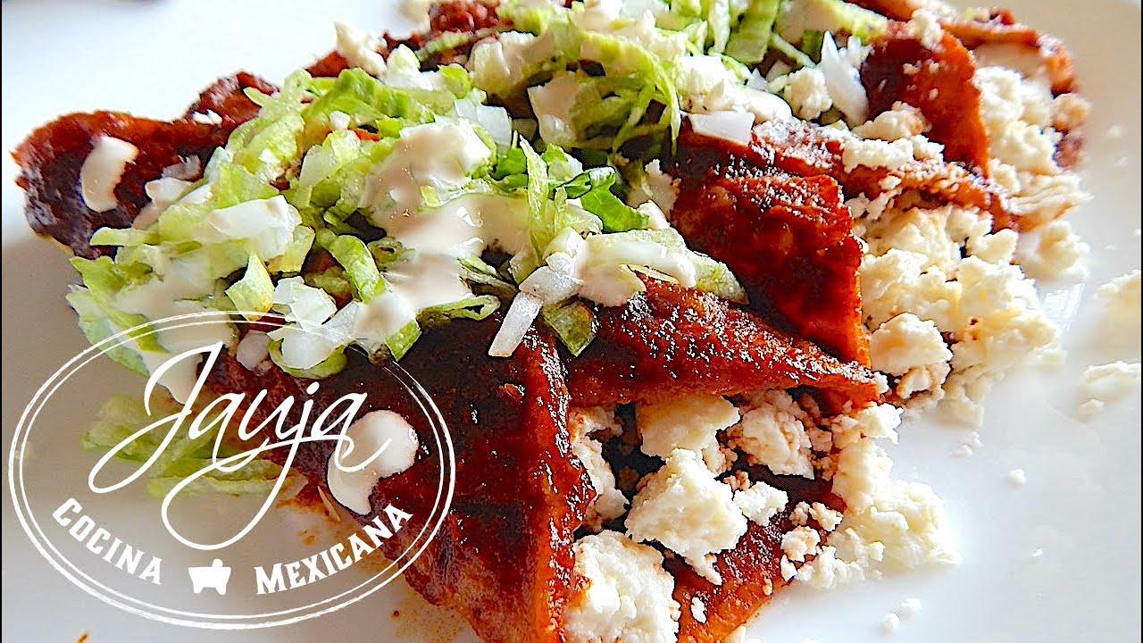 Enchiladas Rojas - YouTube