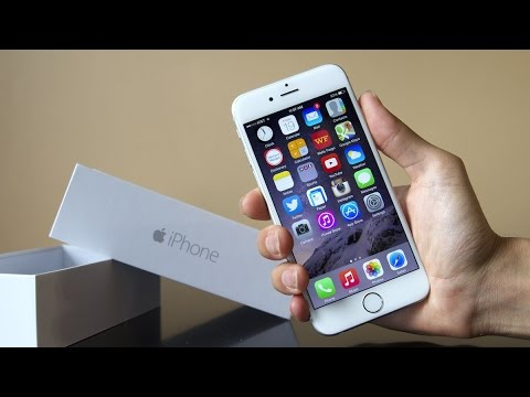 Apple IPhone 6 Unboxing Silver