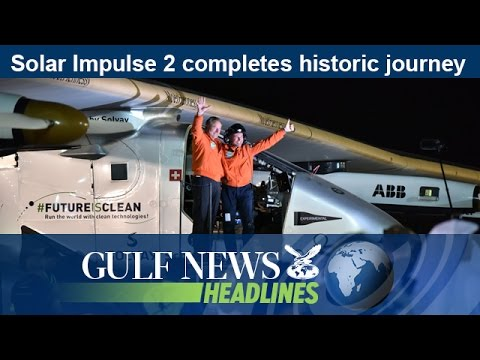 Solar Impulse 2 completes historic journey - GN Headlines