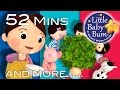 Here We Go Round The Mulberry Bush   Plus More Nursery Rhymes   52 Mins Compilation by LittleBabyBum