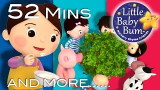 Little Baby Bum | Here We Go Round The Mulberry Bush | Nursery Rhymes for Babies | Songs for Kids