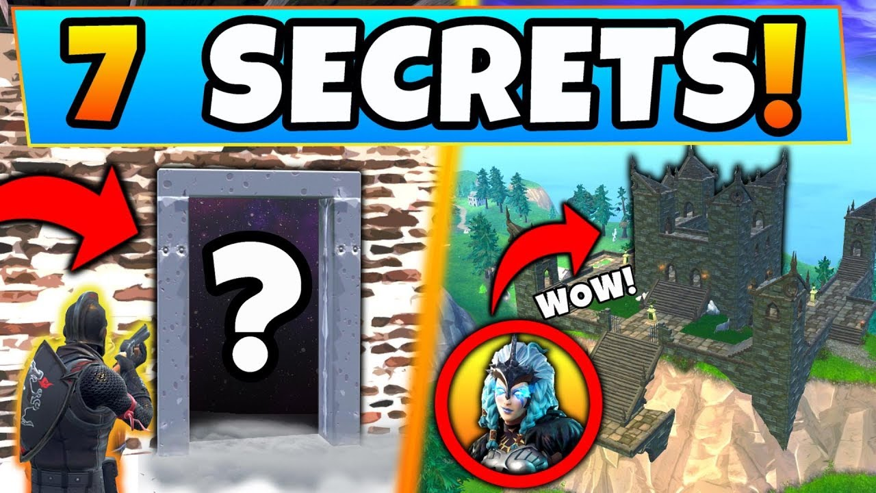 Fortnite Only Experts Know These 7 Season 6 Secrets Skins Secret
