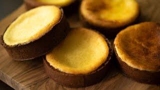 ASMR Baked Cheesecake Chocolate Tart ベイクドチーズケーキ・タルト・ショコラ thumbnail