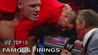 Famous Firings - WWE Top 10