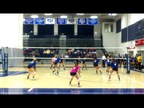 Mackenzie Chambers #16 @ Gulf Coast State College