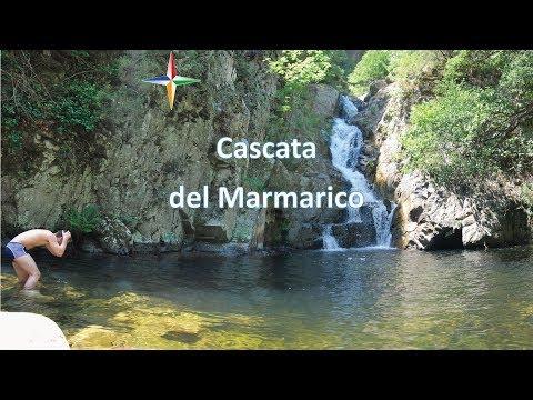 Trekking alla cascata del Marmarico