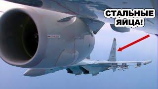 Переполох в американских СМИ: Эти русские пилоты-сумасшедшие! Мы ничего не можем сделать
