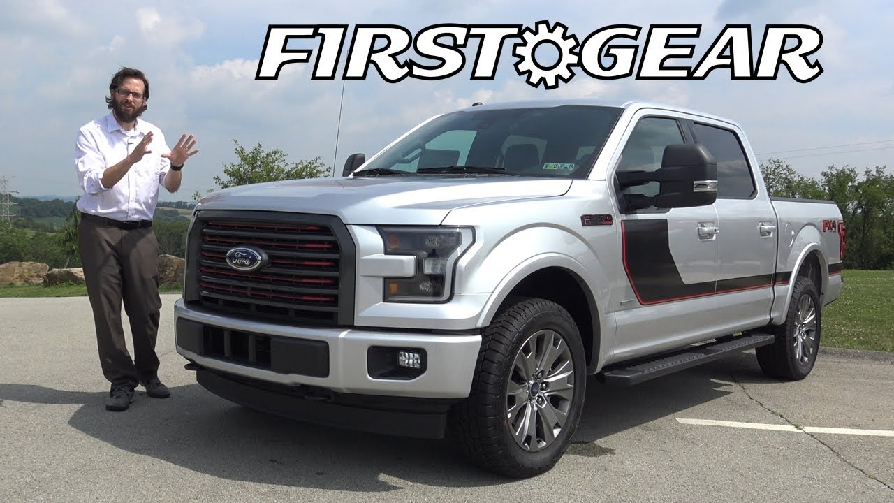2017 ford f 150 lariat sport super crew cab fx4 off road review and test drive first gear. Black Bedroom Furniture Sets. Home Design Ideas