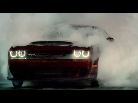 Drag Race A Dodge Demon | Top Gear: Series 25