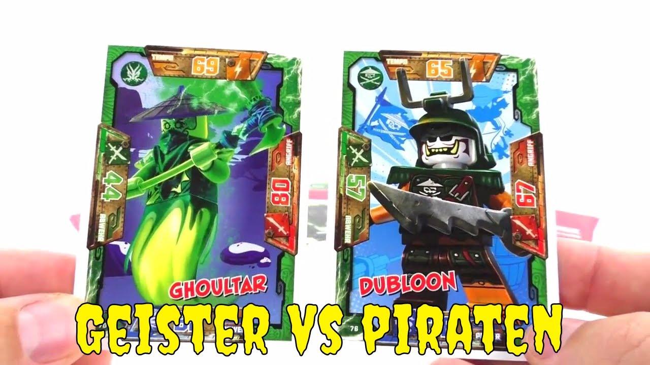 lego ninjago duell geister vs piraten  trading card game