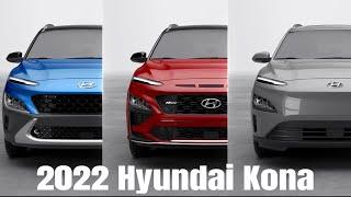 2022 Hyundai Kona | Kona N line \u0026 Electric Color Options and Features
