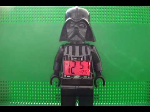 LEGO Darth Vader Alarm Clock Review (Full Review W/ Sound Demo)
