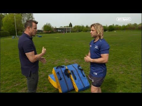 Faf De Klerk ● BT Sport Interview ●  Sale Sharks 2019 - HD