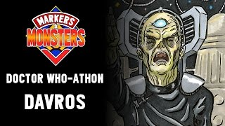 Davros | Doctor Who-Athon 2017 - Drawing Doctor Who Monsters