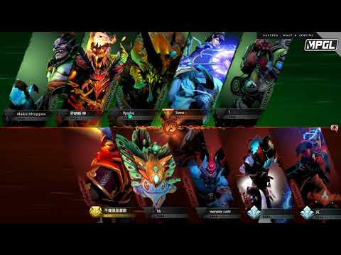 XiT Woundz vs Detonator - MPGL Asian Regular - Game 2