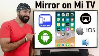 Video Mirroring iPhone, Android & MacBook on MI TV 4 /4A Smart LED TV download MP3, 3GP, MP4, WEBM, AVI, FLV November 2018