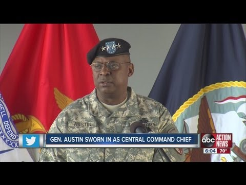 High security, high-profile guests at U.S. CENTCOM change of command