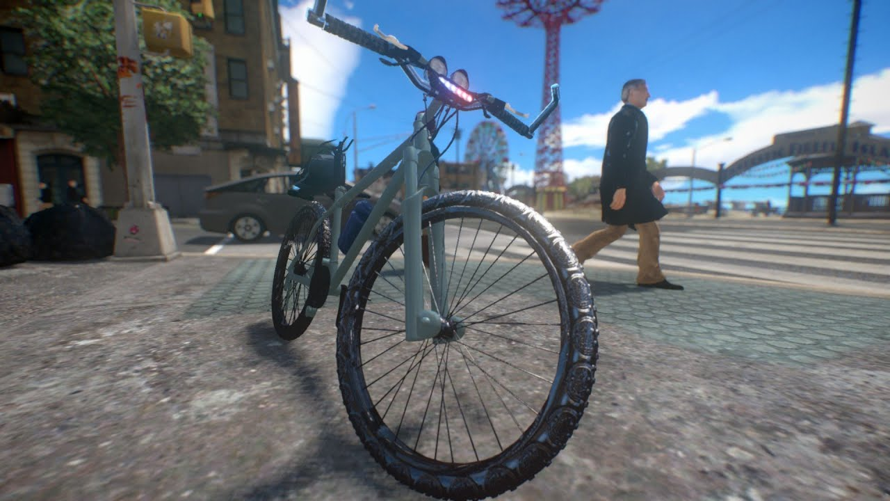 Police Mountain Bike Gta Iv Car Mod Youtube