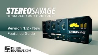 StereoSavage 12 Update - Stereo Widening Plugin - New Features Guide