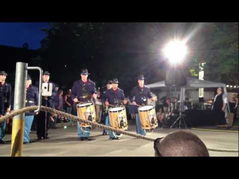 CT Blues perform Country Dance in Basel Switzerland June 29, 2012