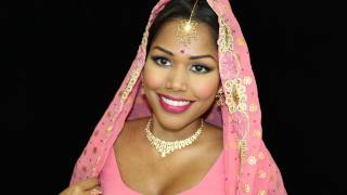 60s & 70s Inspired Indian/Bollywood bridal makeup