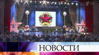 ВТеатре Армии прошел финал игр Клуба веселых инаходчивых среди команд военных вузов.