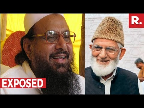 EXPOSED: Geelani In India = Hafiz Saeed In Pakistan? | The Debate With Arnab Goswami