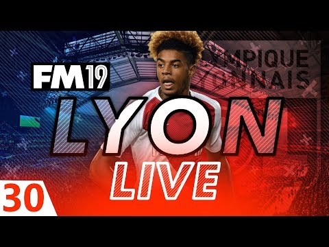 Football Manager 2019 | Lyon Live #30: Home Town Hero #FM19