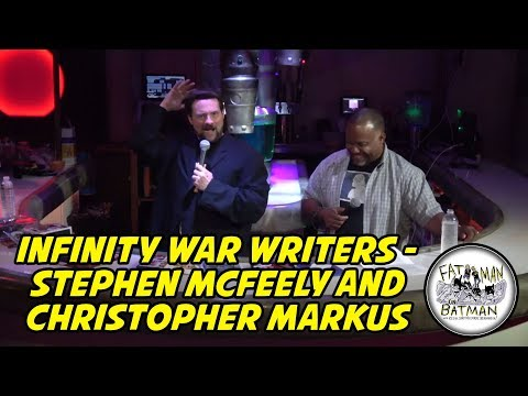 Infinity War Writers  Stephen McFeely and Christopher Markus