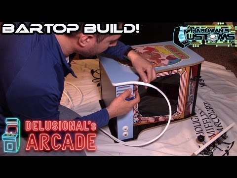 Nintendo Donkey Kong Bartop Build and Review [Haruman's Customs]