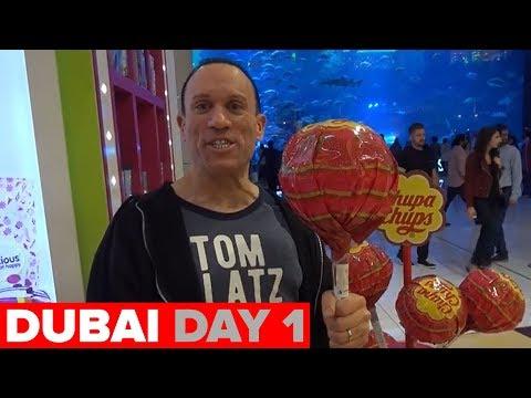 BURJ KHALIFA & SHARK TANKS IN DUBAI (DAY 1)!