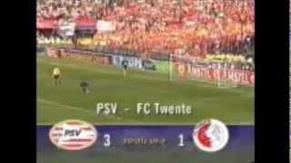 Twente - PSV Bekerfinale 2001 strafschoppen