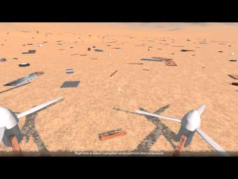 Quadcopter In Construction Game