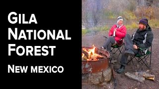 E09.Gila National Forest - Tęnt Camping in New Mexico