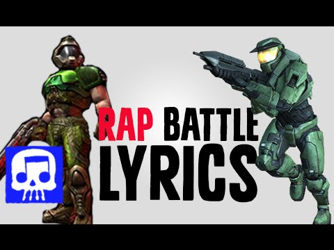 DOOMGUY VS MASTER CHIEF LYRIC VIDEO by JT Music and THK